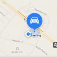 Apple Maps parking