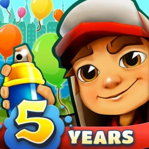 Subway Surfers fylder 5 år