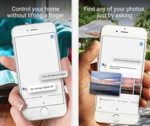 Google Assistant på iPhone (Foto_ Google)
