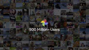 Google Fotos bruges nu af mere end 500 millioner brugere (Kilde: Google I/O 2017)