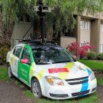Google Street View bil