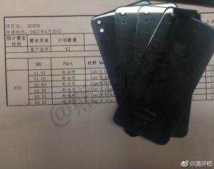 Lækkede billede af det der formodes at være den kommende iPhone SE (2017) (Kilde: GSMArena.com)