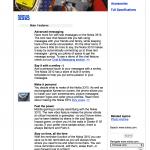 Nokia website 2000