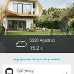 App til Gardena robotplæneklipper (Foto: MereMobil.dk)