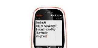 Nokia 3310 anno 2017 er klar til comeback (Foto: HMD Global)