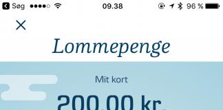 Lommepengeløsning fra Danske Bank klar i den nye Mobilbank (Kilde: Danske Bank)
