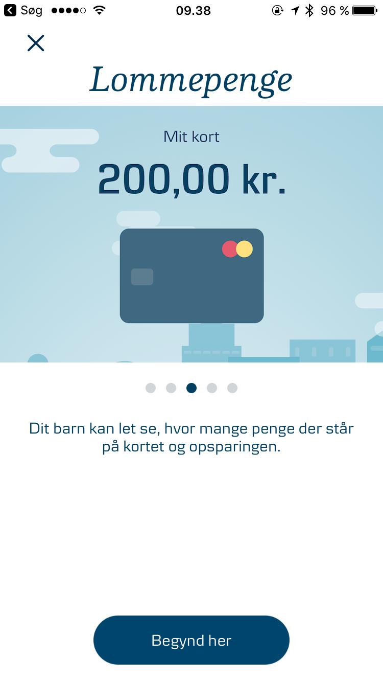 Danske Bank klar med lommepenge app til børnene