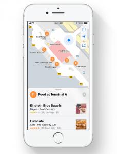 Indendørskort i Apple Maps på iOS 11 (Foto: Apple)