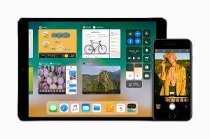 Multitasking på iPad med iOS 11 (Foto: Apple)