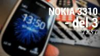 TEST DEL 3: Nokia 3310 anno 2017. Hvordan klarer man sig med den i hverdagen? Holder den stadig i 2017? Her er konklusionen på testen.