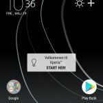 Screenshot fra Sony Xperia XZ Premium (Foto: MereMobil.dk)