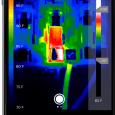 Termografering kan udføres med smartphonen (Foto: Seek Thermal)