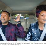 John Legend og Alicia Keys i Carpool Karaoke (Foto: Apple)