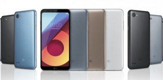 LG Q6, LG Q6+ og LG Q6a (Kilde: GSMArena.com)
