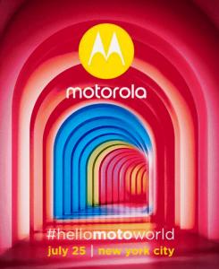 Invitation til Moto-event tirsdag den 25. juli 2017 (Kilde: GSMArena.com)