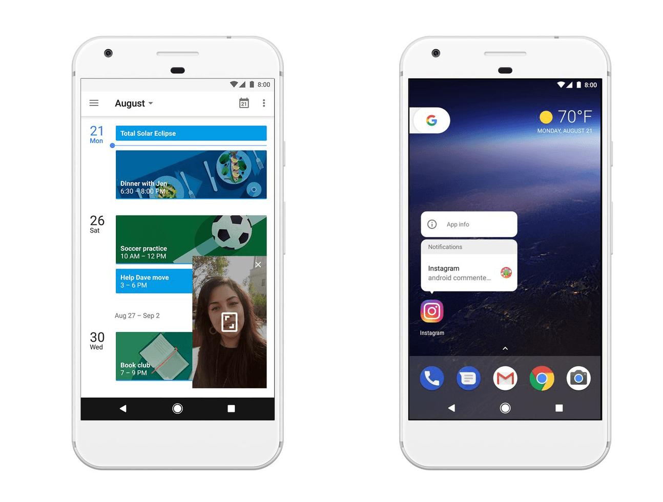 Android 8 0 oreo er officiel dette skal du vide - Er finestra android ...