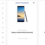 Samsung har lagt billeder og oplysninger om Galaxy Note 8 online kortvarigt den anden dag (Kilde: Android Police)