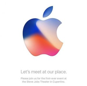 Invitationen til det der ventes at være Apples iPhone 8-event