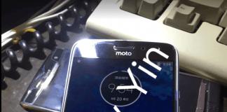 Lækket billede af det, som måske er Moto X4 (Kilde: Jerry Yin / Google+)