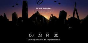 Livestream af Sony's pressemøde til IFA 2017
