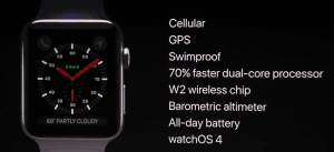 Apple Watch Series 3 facts
