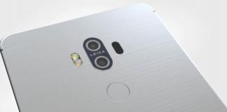 Huawei Mate 10 (Rygtefoto)