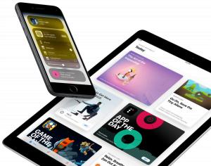 iOS 11 iPad og iPhone