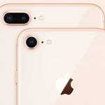 Bagsiden på iPhone 8 og iPhone 8 Plus