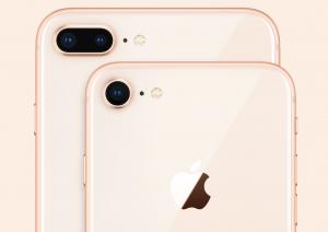 Bagsiden på iPhone 8 og iPhone 8 Plus