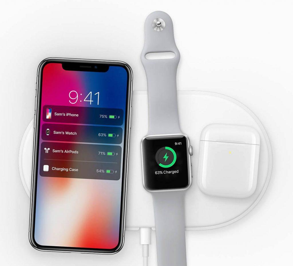 iPhone X og Apple Watch Series 3