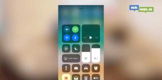 Kontrolcenter iOS 11