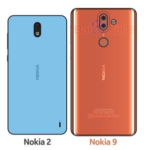 Nokia 2 og Nokia 9 rygter