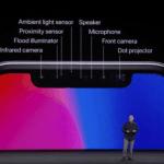 Sensorer på iPhone X