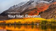 Apple fremviste i juni macOS High Sierra der er en finjustering af macOS Sierra. Nu kan den nye version downloades.