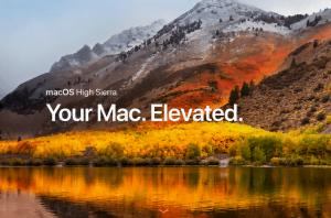 macOS High Sierra klar til offentligheden mandag den 25. september 2017 (Kilde: Apple)