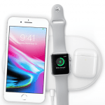 iPhone 8, Apple Watch og AirPods oplades trådløst (Foto: Apple)