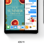 iOS 11 på iPad og iPhone (Foto: Apple)