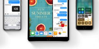 iOS 11 på iPad og iPhone (Foto: Apple)