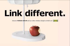 Ikea klar med ny kampagne for deres trådløse opladningsprodukter (Foto: Ikea)