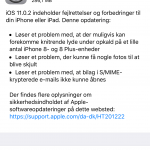 Apple udsender iOS 10.0.2