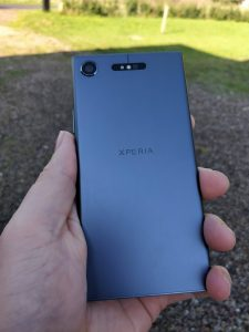Sony Xperia XZ1 test