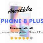 iPhone 8 Plus anmeldelse