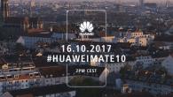 I dag klokken 14.00 offentliggør Huawei deres hidtil vildeste smartphones, Mate 10 serien. Sådan ser du med live.