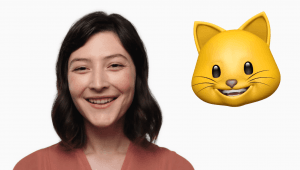 Animoji på iPhone X