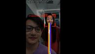 Google-forskere vil formentlig præsentereen elektronisk skærmbeskytter, som afbryder alt, hvad du laver og afslører, hvis du bliver kigget over skulderen.