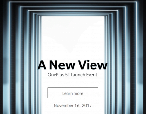 OnePlus 5T event