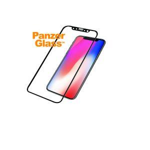 iPhone X med PanzerGlass