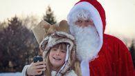 Igen! Far! Ordene fra et begejstret barn, der ikke kan få nok af, at ringe til Julemanden. Her er nummeret.