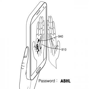 Samsung håndfladekode