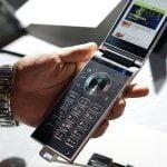 Samsung W2018 (Foto: Tech-sina)